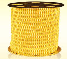 鼎峰厂家直销2835双排LED高亮软灯带 180珠高压灯带  卧室客厅软灯带 暖白