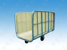 厂家供应:印染厂用玻璃钢纺织推布车 定型厂用方形推布车 织布厂用pe推布车