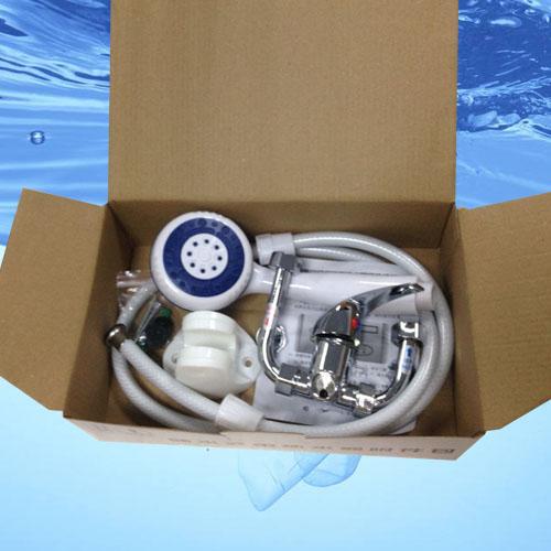 电热水器附件包批发:花洒合金混水阀 美的 万和万家乐等通用