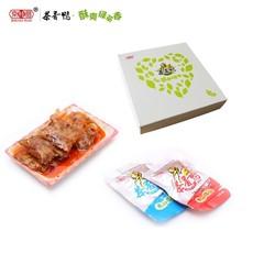 京桂圆茶香鸭好吃鸭肉脯肉干美食特产礼品办公室零食