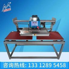 厂家批发 上滑式气动双工位烫画机 上移式头移动气动烫画机