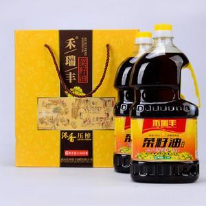 禾瑞丰非转基因浓香菜籽油 精品绿色压榨油 纯天然植物 厂家直销