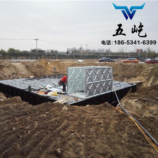 BDF水箱制作|BDF地埋水箱安装|五屹水箱专业铸就品质