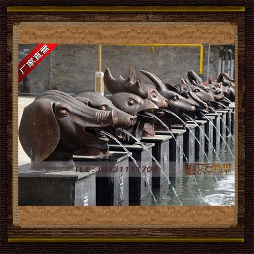 供应  十二生肖铜雕像  品牌雕塑    厂家直销