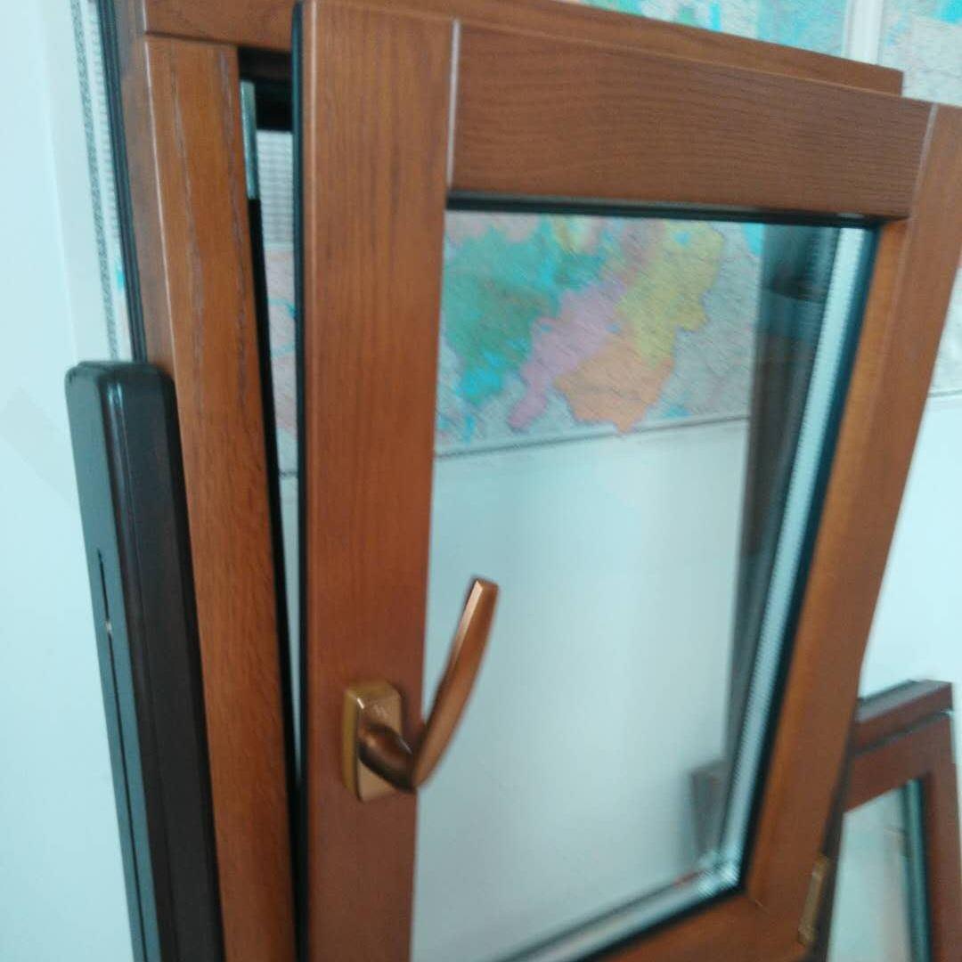 专业定制贝科利尔隔音隔热高端80系列铝包木门窗