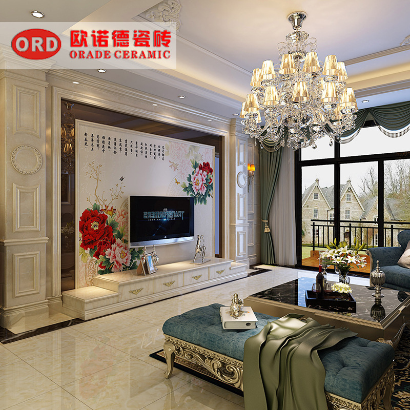 厂家热销 优质现代简约客厅电视机瓷砖背景墙边框 大理石罗马柱