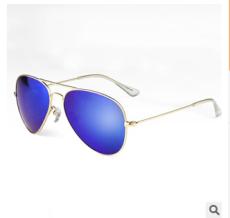 供应新款太阳镜全框金属彩膜太阳眼镜