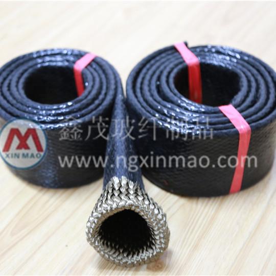 厂家直供 玄武岩编织硅胶绝缘套管