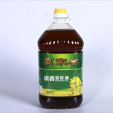 浓香菜籽油 5L 压榨菜籽油 厂家直销供应