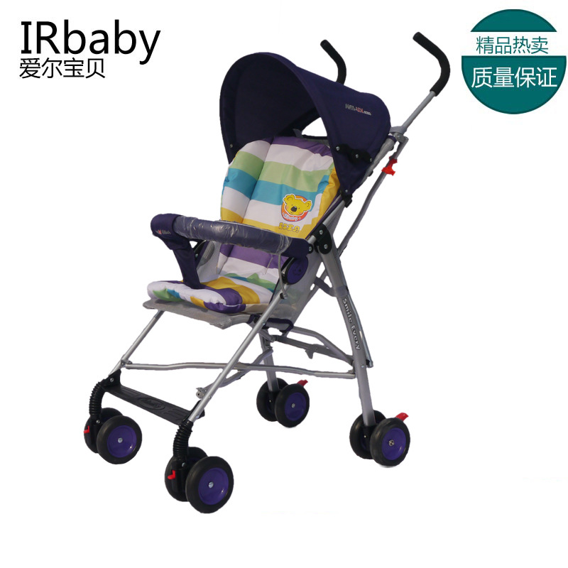 婴儿推车轻便简易可折叠四轮婴儿手推车