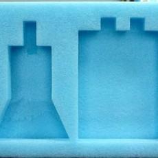 重庆祥鸿专业重庆包装材料EPE珍珠棉卡槽打样加工生产直销
