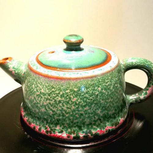 钧瓷茶壶--豫鼎钧窑精品新中式仿清收藏茶具