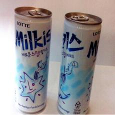 韩国进口饮料批发  苏打水