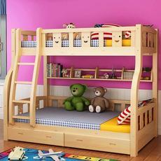 供应 实木双层床儿童床上下床