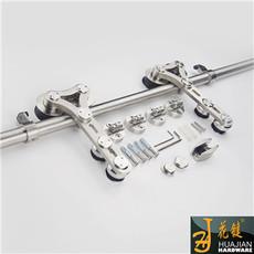 商场重型玻璃移门滑轮01A-C不锈钢静音顺畅吊轮滑轮
