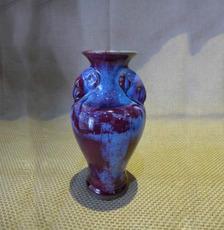 煤窑羊头瓶,高24厘米,款14厘米 礼品 收藏品 结婚首选 新古典风格