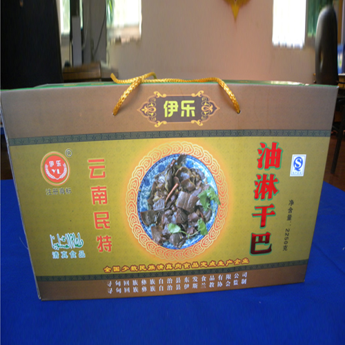 云南油淋干巴2250克礼盒1×3瓶