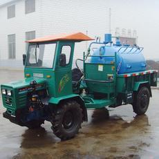 厂家直销湖南四驱盘式拖拉机小型吸粪车农村用四驱爬山王真空吸粪车性价比最高