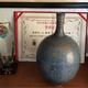 旋纹小口瓶  传世炉钧现代艺术品收藏
