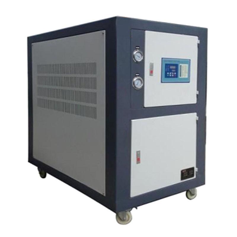 工业冷机_注塑机用冷水机活塞式工业制冷一体机涡旋式冷却机箱体式乙二醇冷冻机