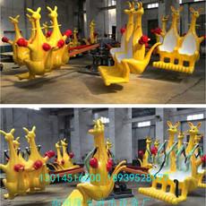 造型可爱 童趣十足 欢乐蹦游乐设备 郑州隆生袋鼠跳