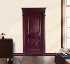 万豪木门,WHn-001,木门厂家,欧式雕花,实木门