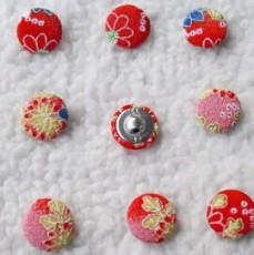 日本和风绉布包布扣子布包扣手工DIY布艺纽扣