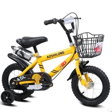 儿童自行车男孩童车3岁6岁女宝宝脚踏小孩单车
