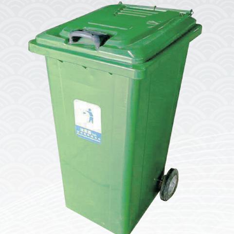 新疆钢板垃圾桶 钢板垃圾桶防锈耐用 奇台果皮箱生产厂家