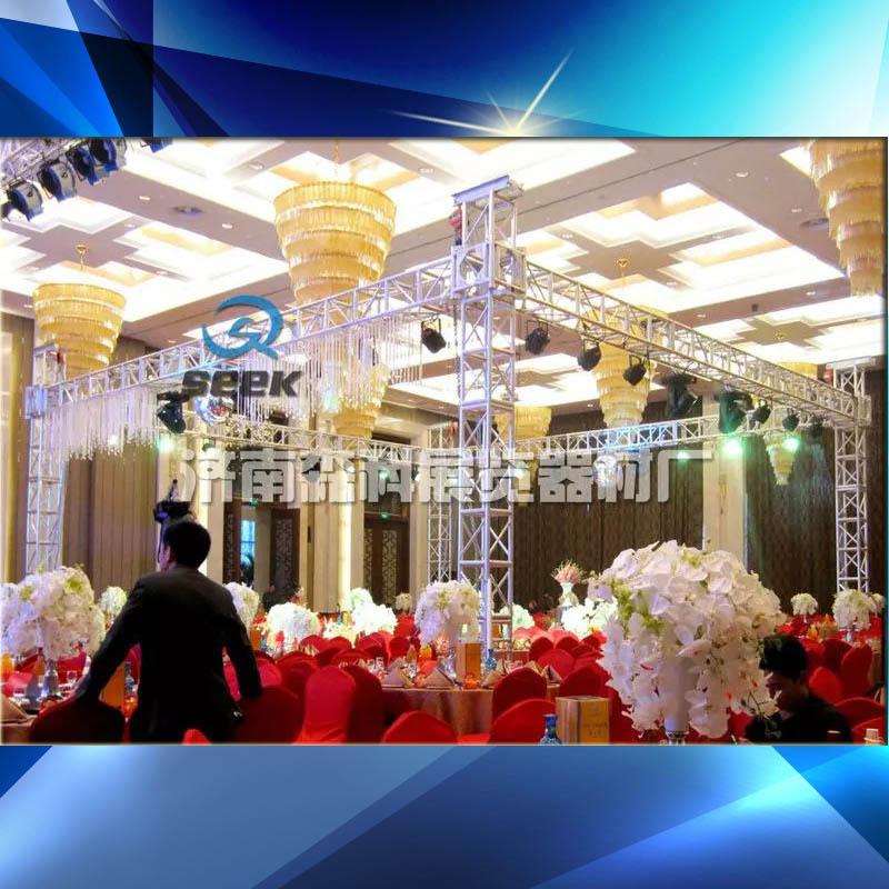 铝合金桁架灯光架舞台架子背景图片演出架子济南出售
