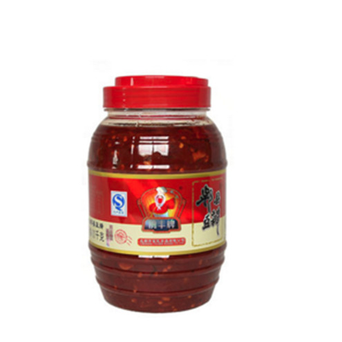 四川特产 鹃丰牌郫县红油豆瓣酱1100g 8瓶一箱 酱香浓郁