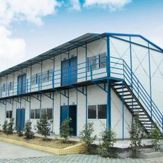 北京顺义仁和祈虹彩钢厂家直销出口低价环保新型彩钢活动板房