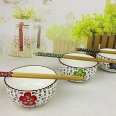 供应 青花瓷碗筷套装 活动促销礼品瓷 陶瓷餐具