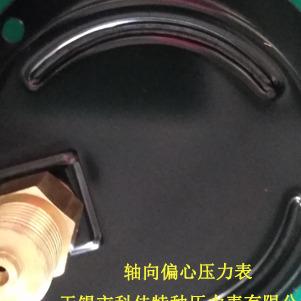 轴向偏心耐震压力表 背接式偏心耐震压力表 偏心耐震压力表生产厂家