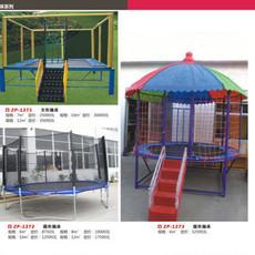 低价促销儿童休闲娱乐圆形方形蹦床 质量保证