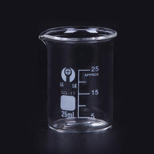 供应厂家直销25ml 烧杯 量杯 量筒
