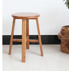 厂家批发 实木楠竹凳子 圆凳 咖啡凳 简易组装