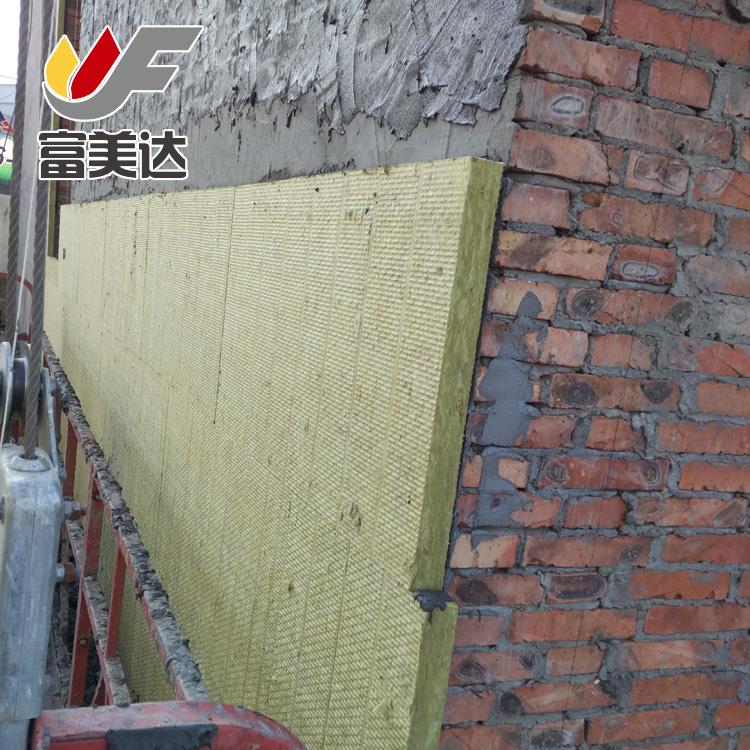 富美达  现货供应阻火隔音岩棉板 国标高密度岩棉板 耐高温优质岩棉板