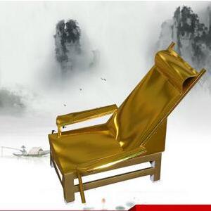 供应 祭祀花圈亮纸金躺椅纸活定制