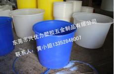 厂家供应:米行用耐撞击塑料圆桶 M-800L可重叠pe食品腌制桶 防腐蚀塑料培植桶