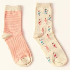 小清新韩国创意棉袜
