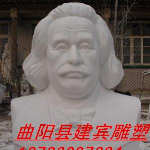 爱因斯坦胸像 爱因斯坦雕塑 名人头像雕塑