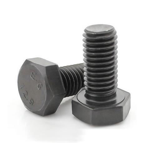 12.9级外六角螺丝高强度螺栓螺钉(合金钢)材质