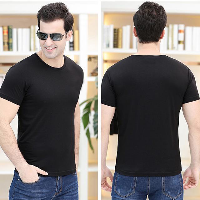 总长男士夏季纯棉工作服短袖衬衫纯色衬衫