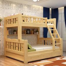 供应 实木双 层床 儿童床上下铺木床