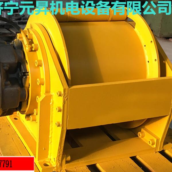 旋挖钻机用单绳提升12吨液压ag国际厅外挂有吗 济宁元升卷扬机厂家