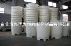 厂家直销:一次成型叉车用塑料圆桶 耐酸碱圆形塑料贮水桶 食品级酸菜腌制桶