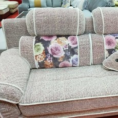 布艺沙发组合简约现代田园风大小户型组合整装