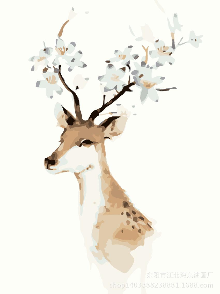 动物数码装饰画