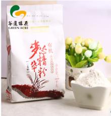 谷道粮原 有机麦芯精华粉 面粉 1KG 饺子必备 白面 小麦粉